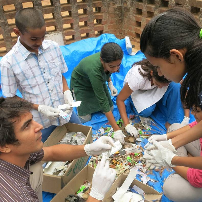 auditing waste with students